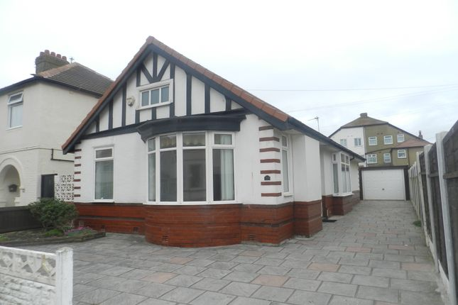 Thumbnail Detached bungalow to rent in Coronation Road, Thornton-Cleveleys