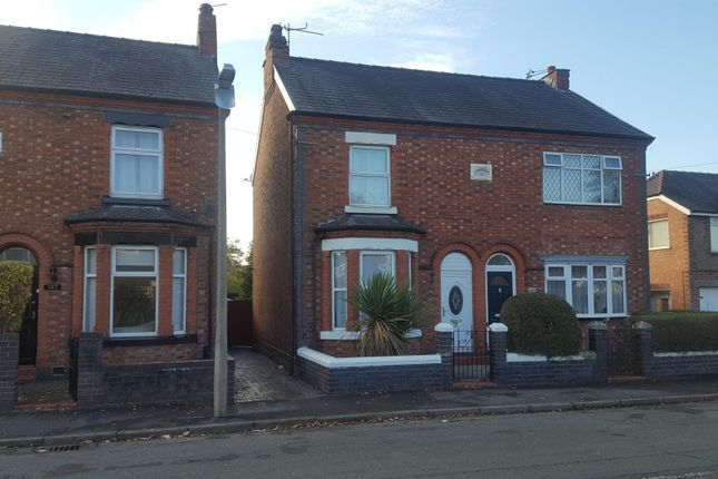 Thumbnail Detached house to rent in Crook Lane, Winsford