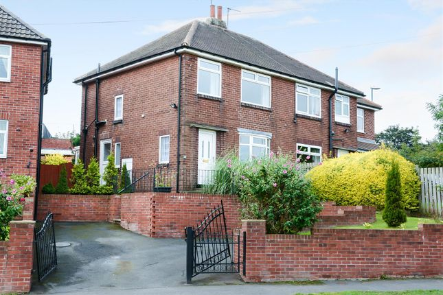 Thumbnail Semi-detached house for sale in Gotts Park Avenue, Armley, Leeds