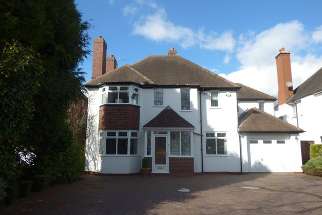 Thumbnail Detached house for sale in Croftdown Road, Harborne, Birmingham