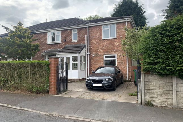 Thumbnail Semi-detached house to rent in Overlea Drive, Overlea Drive, Manchester, Greater Manchester