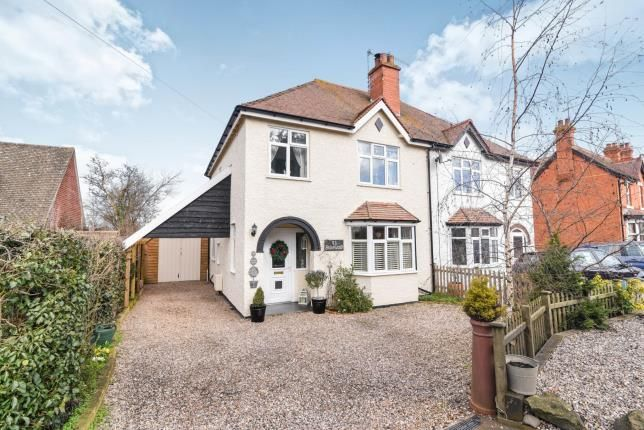 Thumbnail Semi-detached house for sale in Bretforton Road, Badsey, Evesham, Worcestershire