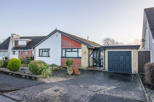 Thumbnail Detached bungalow for sale in Robinswood Close, Penarth