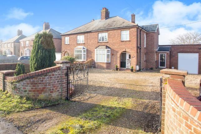 Thumbnail Semi-detached house for sale in Downham Market, Kings Lynn, Norfolk