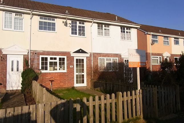 2 bed terraced house to rent in Hodges Walk, Torrington EX38