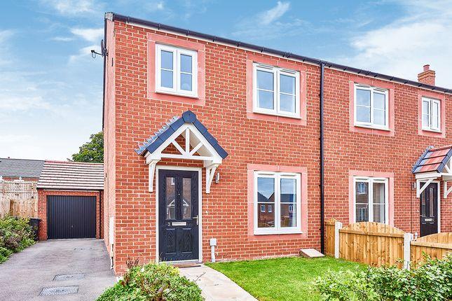 Thumbnail Semi-detached house for sale in Marion Close, Carlisle, Cumbria