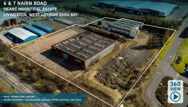 Thumbnail Land for sale in 6 & 7 Nairn Road, Deans Industrial Estate, Deans, Livingston, West Lothian