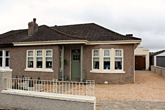 Thumbnail Bungalow for sale in Greystone Avenue, Glasgow