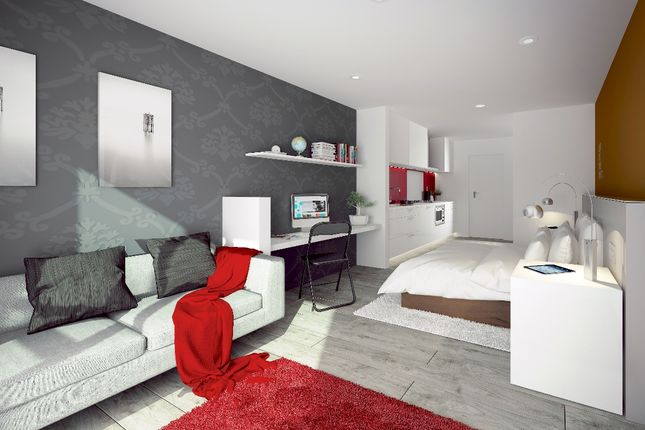Living Area of Salisbury Street, Liverpool L3