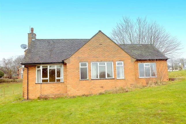 Thumbnail Detached bungalow for sale in Cheddleton Heath, Cheddleton, Nr Leek, Staffordshire