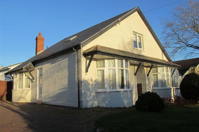 Thumbnail Detached bungalow to rent in Pontypridd Road, Barry, Vale Of Glamorgan