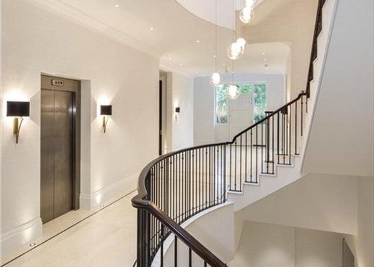 Stairs N2 of The Bishops Avenue, London N2