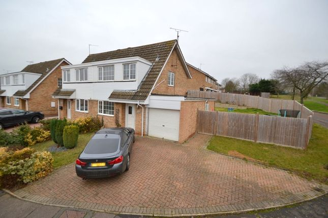Thumbnail Semi-detached house for sale in Obelisk Rise, Kingsthorpe, Northampton
