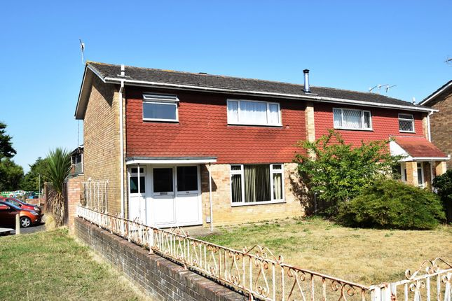 Thumbnail End terrace house to rent in Christopher Crescent, Poole