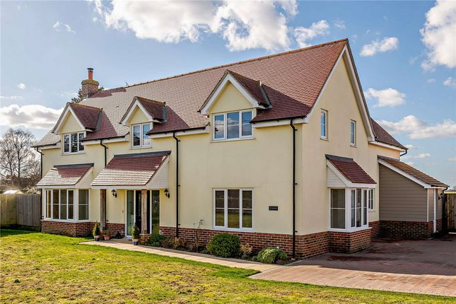 Thumbnail Detached house for sale in Clacton Road, Horsley Cross, Mistley, Manningtree