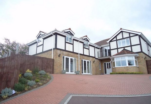 Thumbnail Detached house for sale in Pentwynmawr, Newbridge, Caerphilly