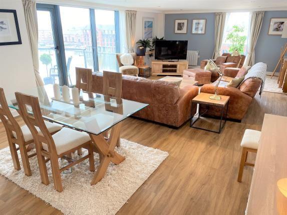Lounge of City Wharf, Atlantic Wharf, Cardiff Bay, Cardiff CF10