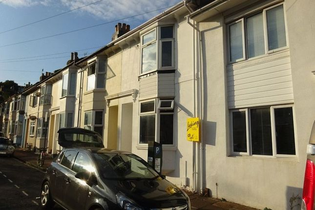 Thumbnail Terraced house to rent in Caledonian Road, Brighton