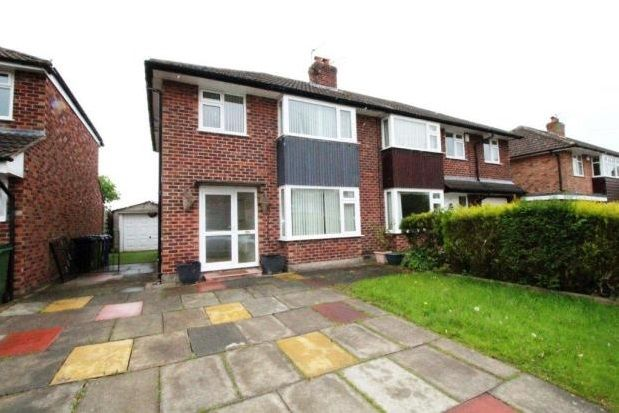 Thumbnail Semi-detached house to rent in Albany Road, Bramhall, Stockport