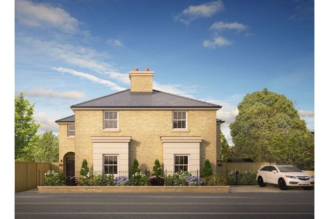 Thumbnail Semi-detached house for sale in Bradbourne Road, Sevenoaks