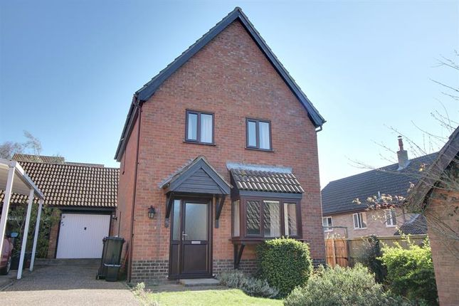 Thumbnail Detached house to rent in Lindford Drive, Eaton, Norwich
