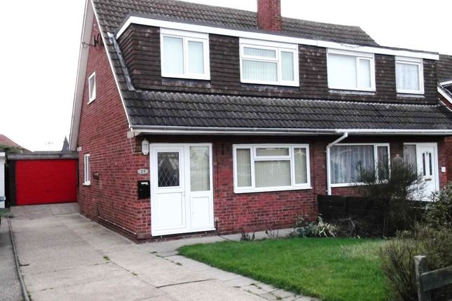 Thumbnail Semi-detached house to rent in Laughton Road, Beverley
