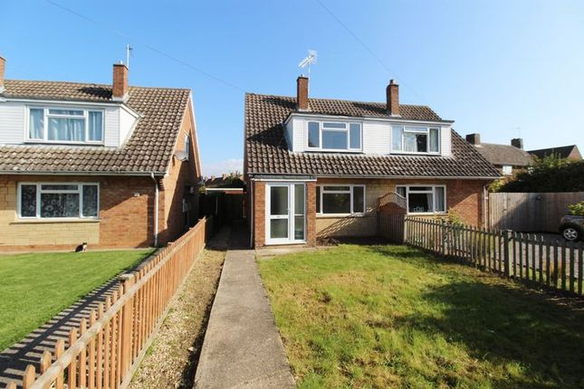 Thumbnail Semi-detached house for sale in St. Swithins Drive, Lower Quinton, Stratford-Upon-Avon