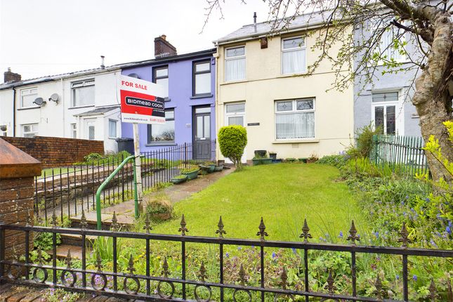 Thumbnail Terraced house for sale in Beaufort Hill, Beaufort, Gwent