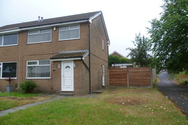 Thumbnail Semi-detached house to rent in Broadford Road, Ladybridge, Bolton
