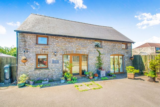 Thumbnail Barn conversion for sale in Church Road, Gelligaer, Hengoed