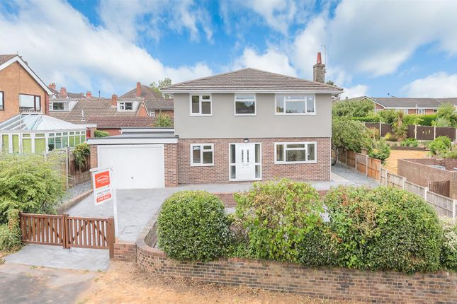 Thumbnail Detached house for sale in Leegomery Road, Wellington, Telford