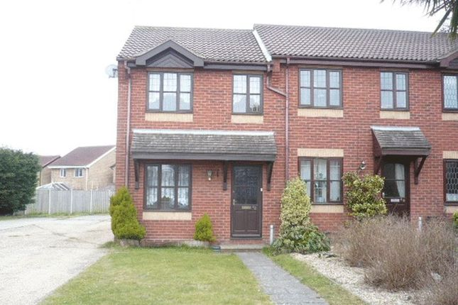Thumbnail End terrace house to rent in Whimbrel Drive, Bradwell, Great Yarmouth