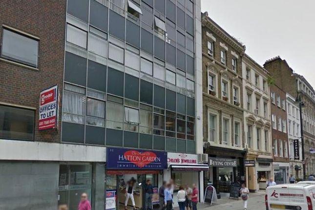 Thumbnail Office to let in 33, Hatton Garden, Clerkenwell
