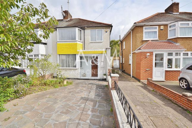 Thumbnail Semi-detached house for sale in The Glade, Clayhall, Ilford