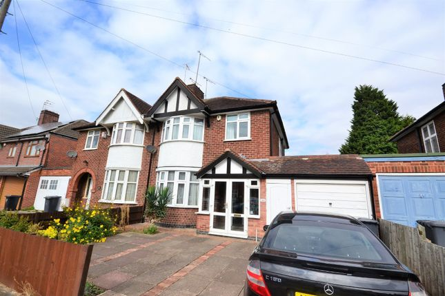 Thumbnail Semi-detached house to rent in Lindsay Road, Rowley Fields, Leicester