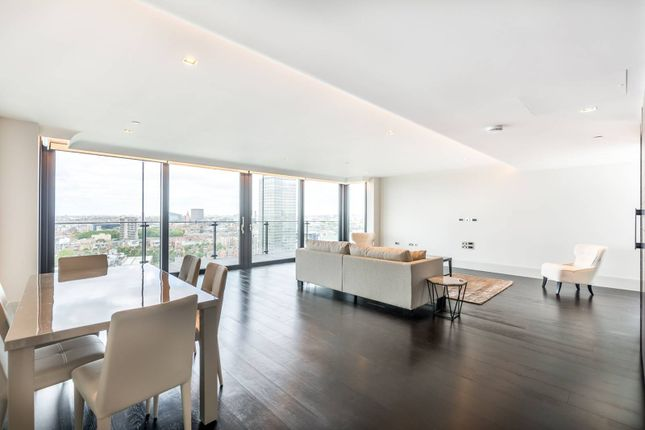 Thumbnail Flat to rent in Albert Embankment, Vauxhall