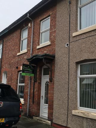 Thumbnail Terraced house to rent in Maughan Street, Blyth