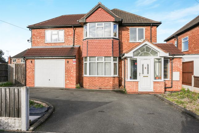 Thumbnail Detached house for sale in Blakesley Close, Sutton Coldfield
