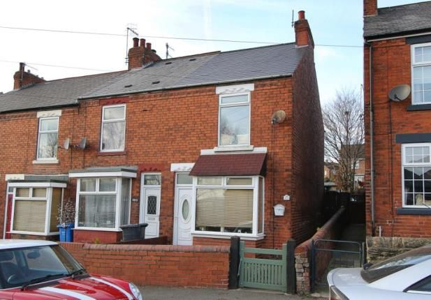 Thumbnail End terrace house for sale in Handley Road, New Whittington, Chesterfield, Derbyshire