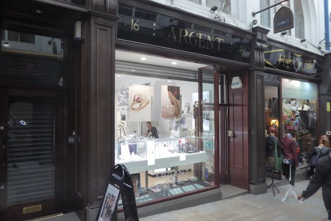 Thumbnail Retail premises for sale in Thorntons Arcade, Leeds