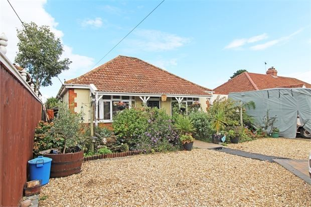Thumbnail Detached bungalow for sale in Elmtree Road, Locking, Weston-Super-Mare, North Somerset.
