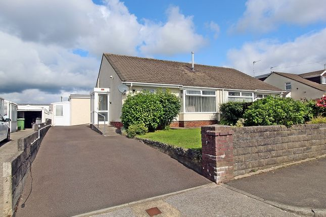 Thumbnail Semi-detached bungalow for sale in Red Roofs Close, Pencoed, Bridgend.