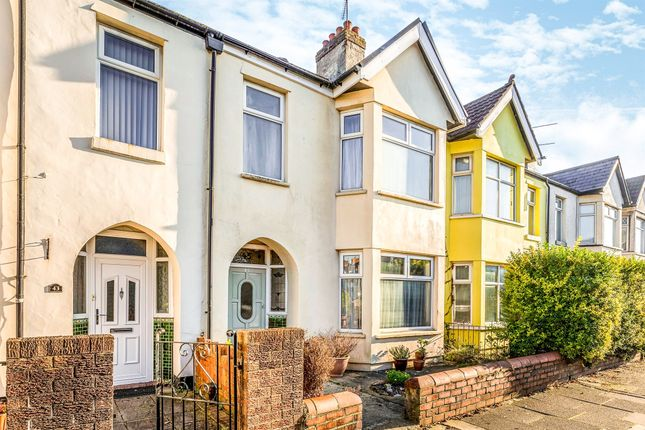 Thumbnail Terraced house for sale in Grosvenor Street, Canton, Cardiff