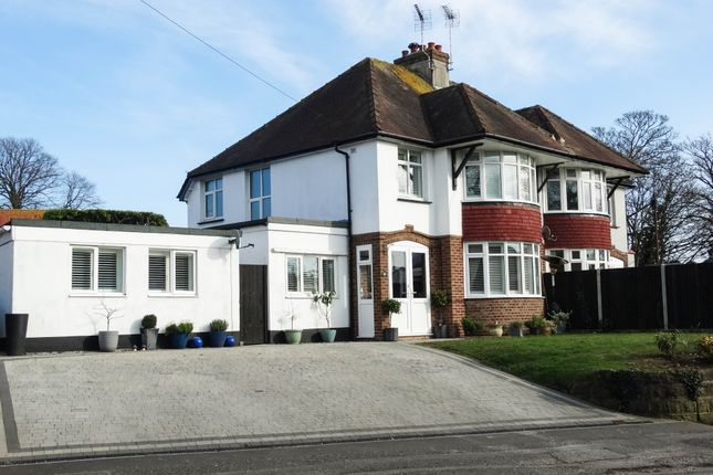 Thumbnail Semi-detached house for sale in Chichester Road, North Bersted, Bognor Regis