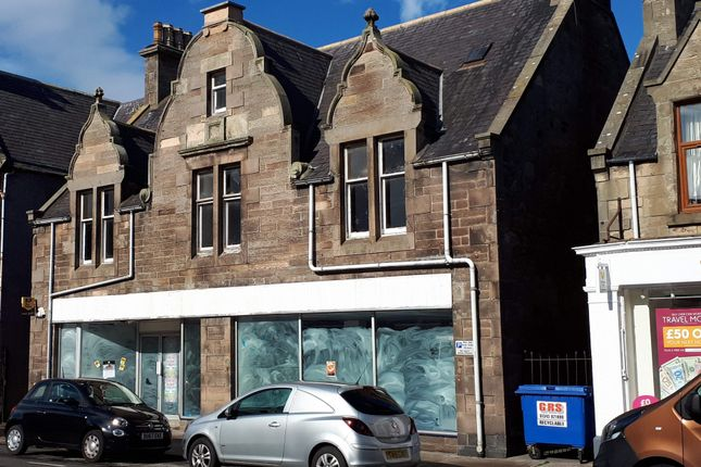 Thumbnail Retail premises to let in 9 11 East Church Street, Buckie