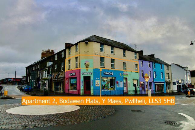 Thumbnail Flat for sale in The Former Bodawen Hotel, Y Maes, Pwllheli