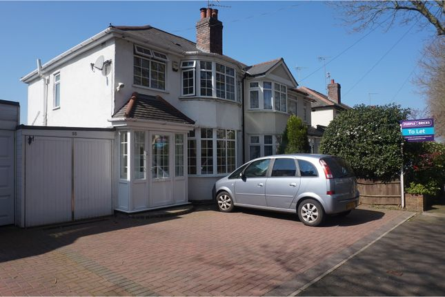 Thumbnail Semi-detached house to rent in Hillyfields Road, Birmingham