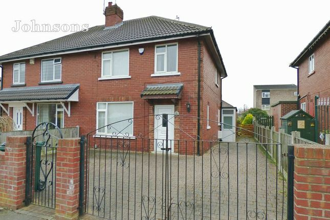 Thumbnail Semi-detached house for sale in Langthwaite Road, Scawthorpe, Doncaster.