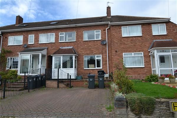 Thumbnail Terraced house for sale in Weybourne Road, Great Barr, Birmingham