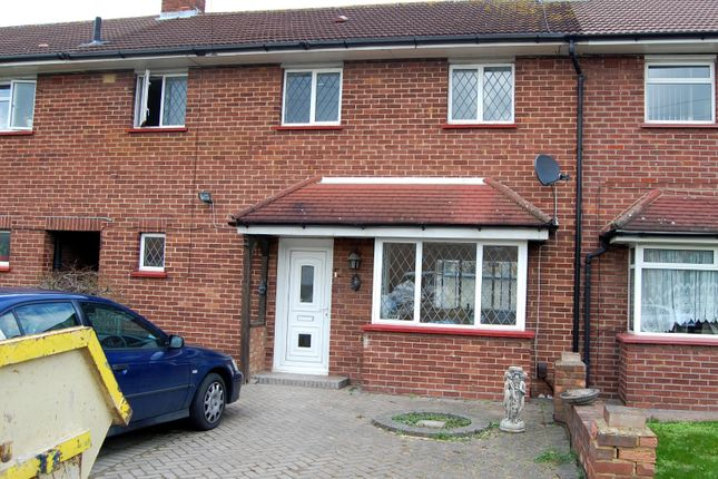 Thumbnail Terraced house to rent in Mulberry Crescent, West Drayton, Middlesex
